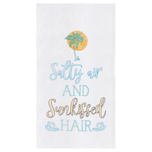 Salty Air... - Flour Sack Kitchen Towel
