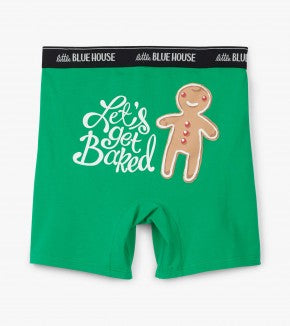 Get Baked Men's Boxer Briefs