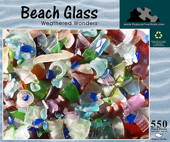 Beach Glass - Weathered Wonders