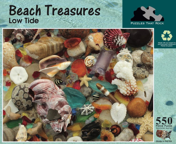 Beach Treasures - Low Tide