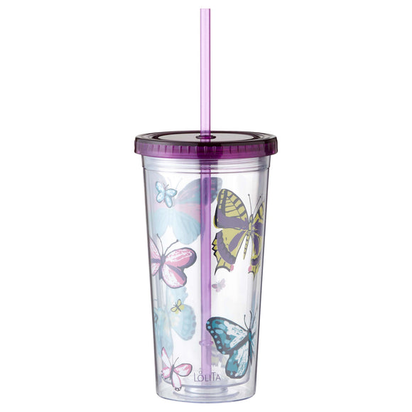 Lolita Acrylic Tumbler - Butterfly