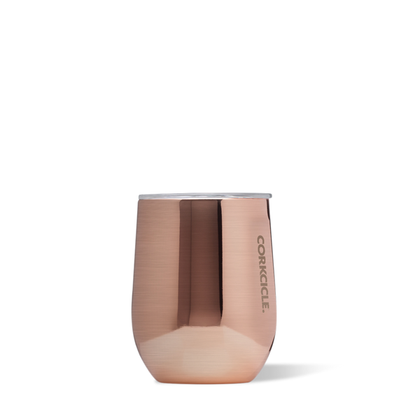 Stemless - 12 OZ Metallic Copper