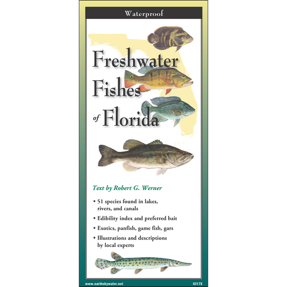 Folding Guide - Freshwater Fishes of Florida