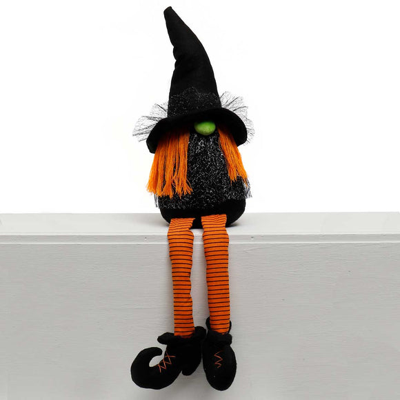 Samanth Witch Gnome with Dangle Legs