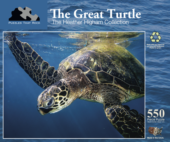 The Great Turtle - The Heather Higham Collection