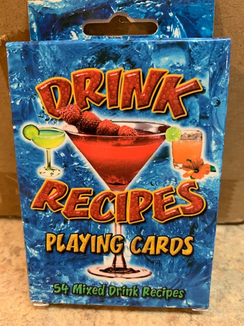 Drink Recipes - Playing Cards