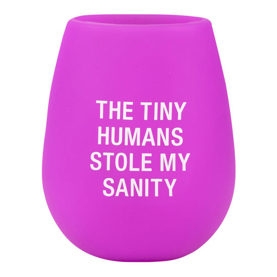 My Sanity Silicone Wine Glass