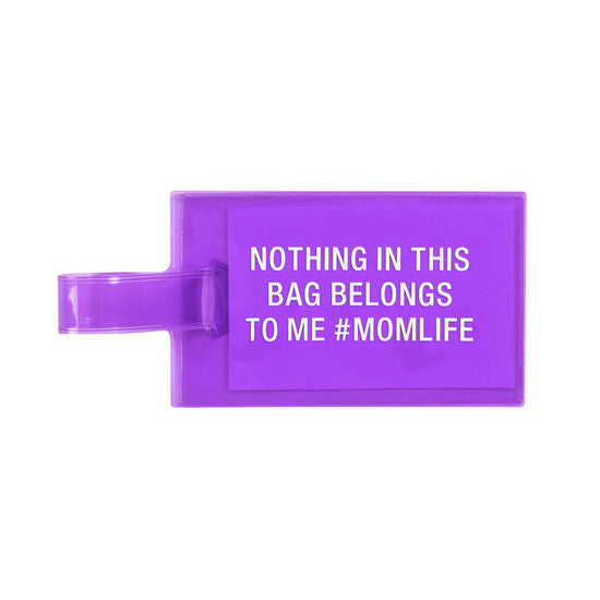 Momlife Luggage Tag