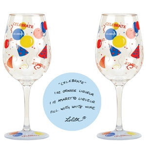 Lolita Acrylic Wine Glass (Set of 2) - Celebrate