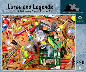 Lures & Legends - A Petoskey Stone Puzzle Too