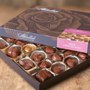 Milk Chocolate Assortment by Abdallah