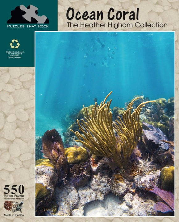 Ocean Coral - The Heather Higham Collection
