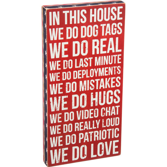 Box Sign - We Do Dog Tags