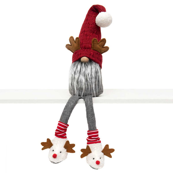 Gnome with Antlers and Dangle Legs - 24