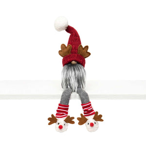 Gnome with Antlers and Dangle Legs - 15""