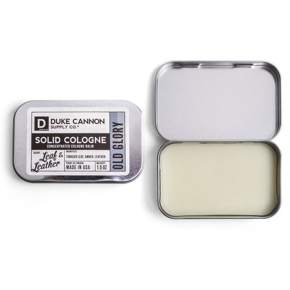 Solid Cologne - Old Glory (Leaf & Leather)