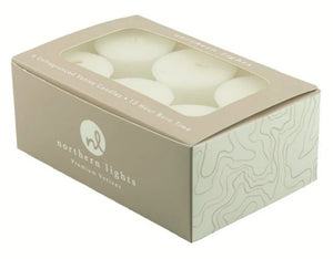 Unfragranced Votives - 6pk