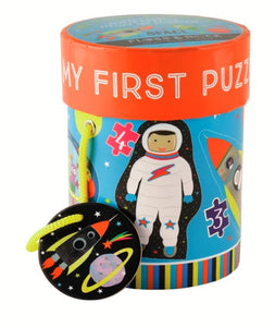 Space First Puzzles 3, 4, 6, 8 Piece