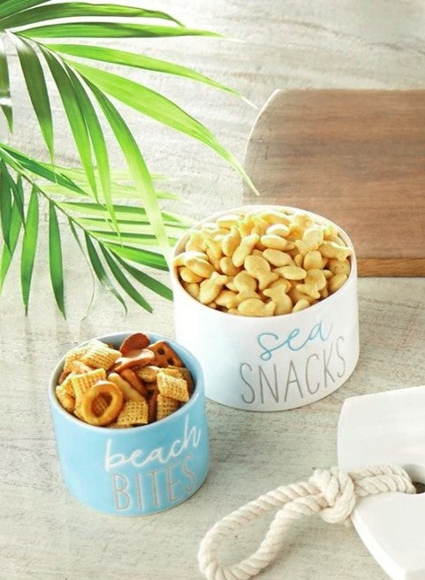 Beach Snack Dip Cup Nested Set