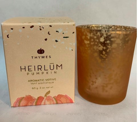 Heirlum Pumpkin Votive Candle