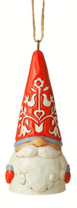Nordic Mini Gnome Ornament - 3 Assorted