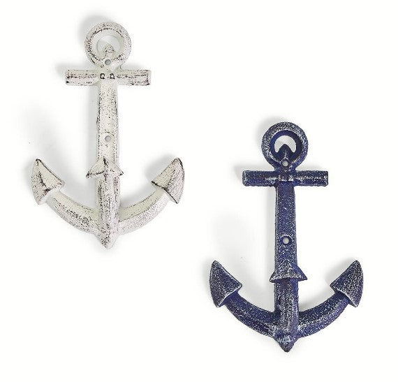 Anchors Aweigh Vintage Anchor Wall Dècor / Hook