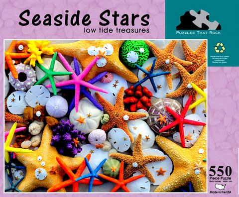 Seaside Stars - low tide treasures