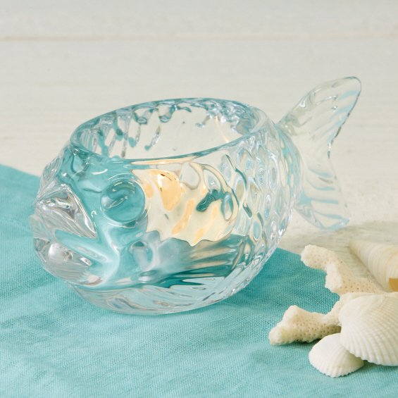 Fish Tealight Candle Holder