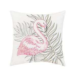 Flamingo Tropics Indoor/Outdoor Pillow