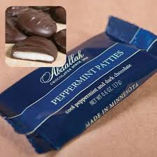Dark Peppermint Patties Singles
