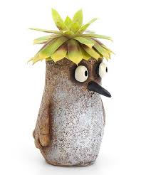 Sandy Sandpiper Bird Planter