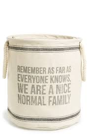 Jumbo Round Collapsible Tote - Family