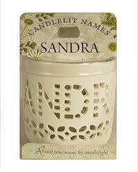 Candlelit Names Porcelain Tealight Holder - 2