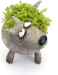 Jazz Dog Planter