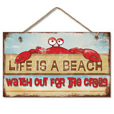 Hanging Sign - Life Is A Beach