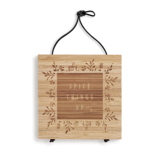 Spice Things Up Expandable Bamboo Trivet