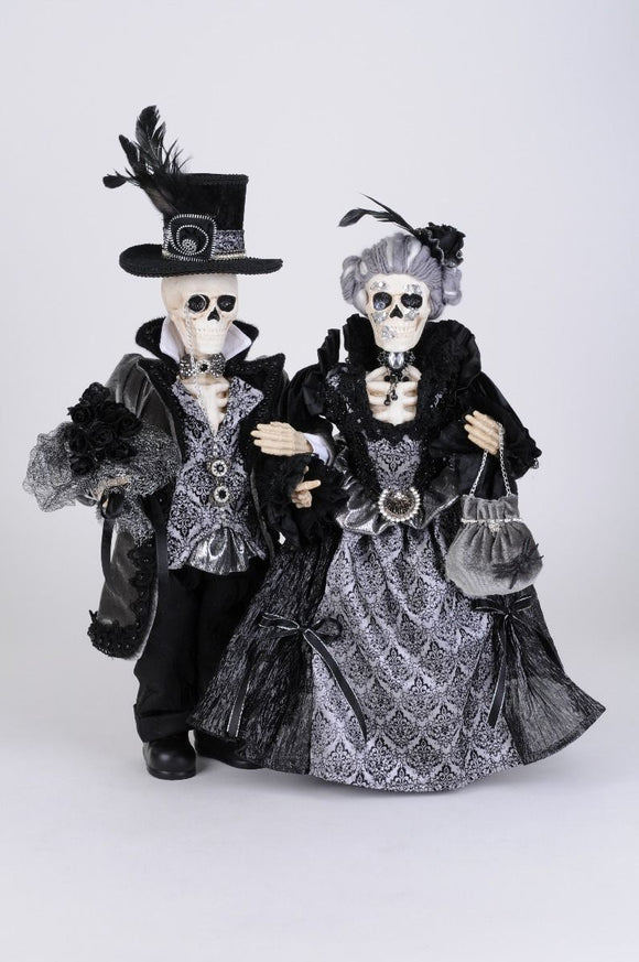 Percy & Lily Skeleton Pair