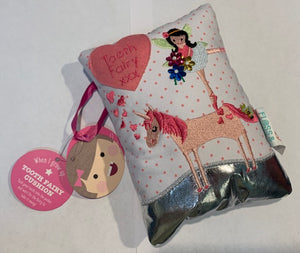 Tooth Fairy Cushion Fairy Unicorn