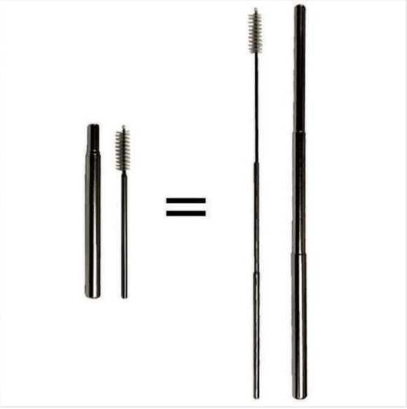 Telescopic Stainless Steel Straw - Stainless