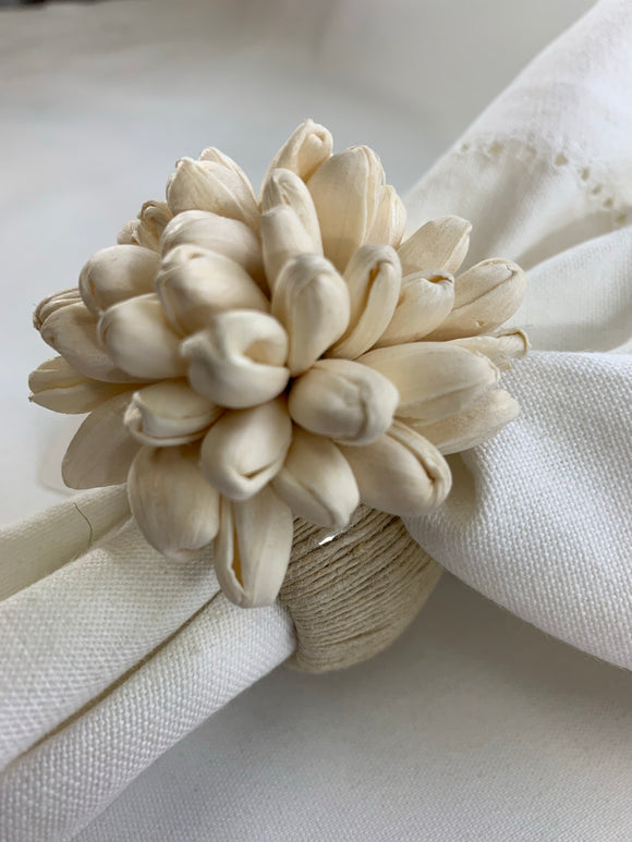 Puffed Wheat Napkin Ring