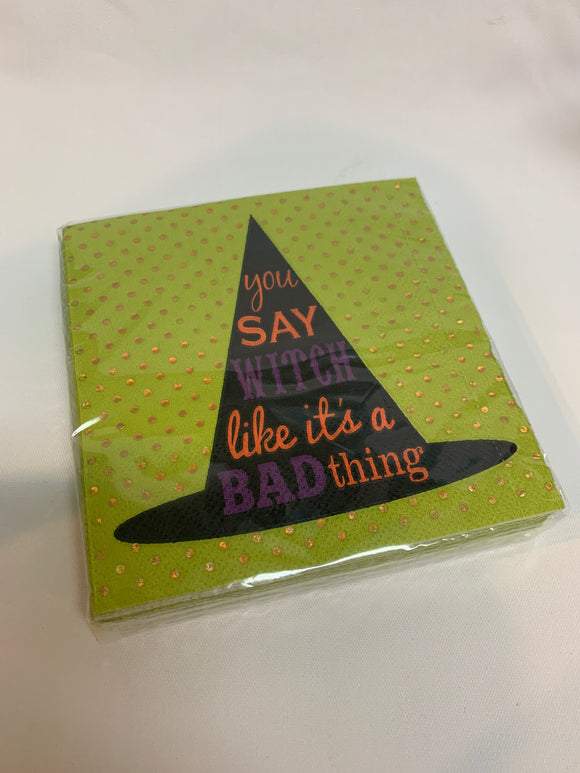 You Say Witch Paper Napkins