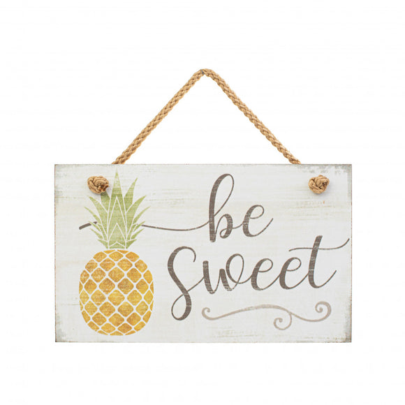 Hanging Sign - Be Sweet
