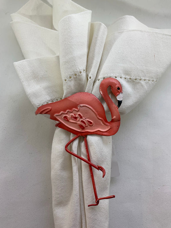 Pink Flamingo Napkin Ring