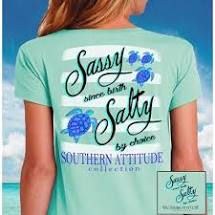 Choice Turtles Seafoam - Southern Attitude