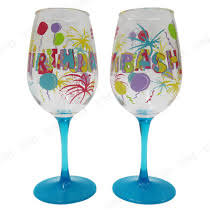 Lolita Acrylic Wine Glass (Set of 2) - Birthday Bash