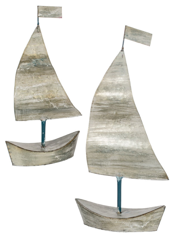Sailboats Tabletop - 2 Assorted