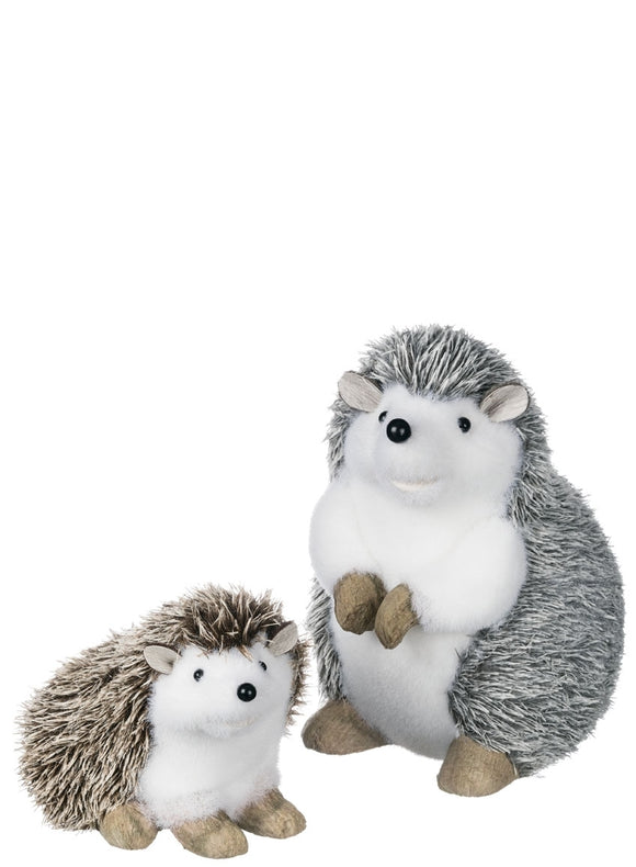 Hedgehog Figurine - 2 Asst