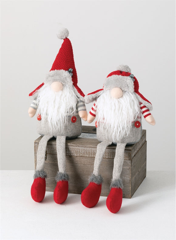 Sitting Gnome - 2 Assorted