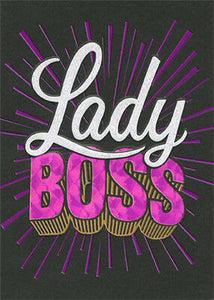 Card - AP/Birthday - Boss Lady