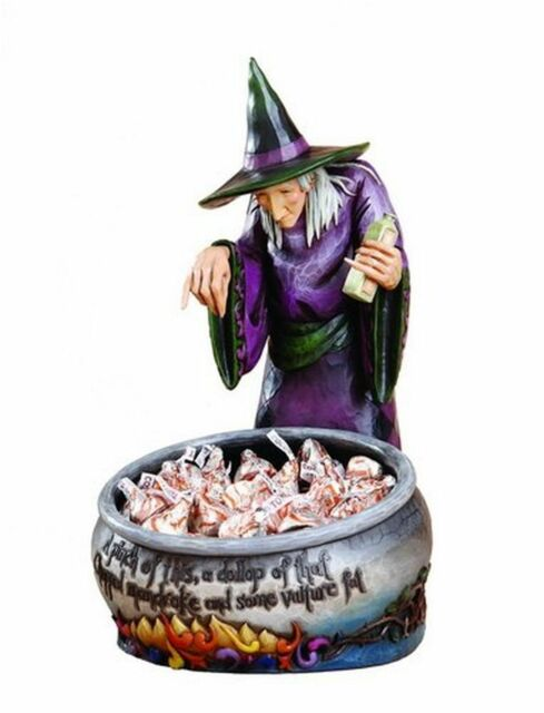 Witch with Cauldron -